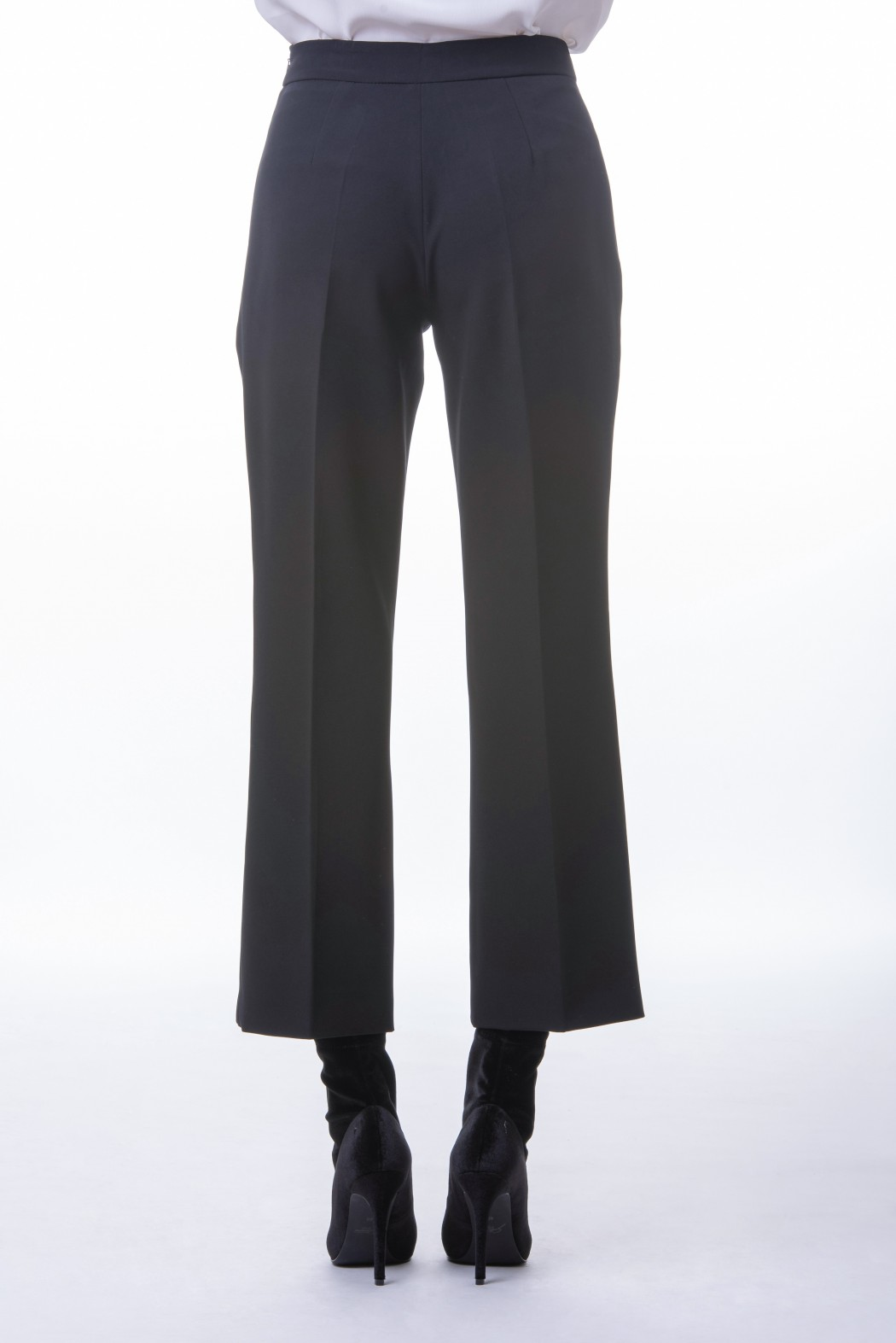 Pantalone cropped in Cady