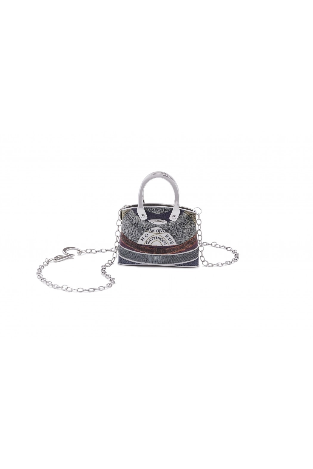 JEWEL FRAME BAG SILVER